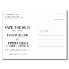 save the date postcard rustic western chalkboard save the date postcard