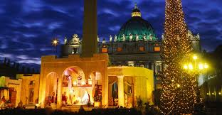 Decoration Of Christmas Tree History by Christmas Tree St Peters Squarest Peters Basilica Christmas