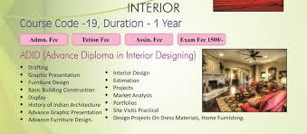 home design courses interior design syllabus
