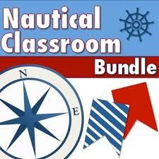 Nautical Classroom Bundle