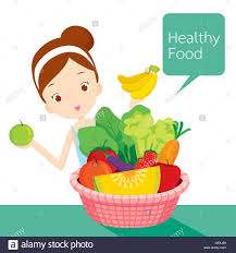 woman cartoon fruit strawberry food stock photos u0026 woman cartoon