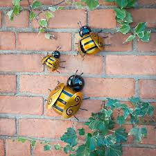 bumblebee decorations bumble bee wall garden decorations