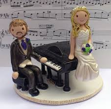 piano cake topper musician cake toppers