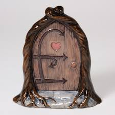 Fairy Door by Mb1488 Fairy Door In Ready To Paint Cone 04 Ceramic Bisque By