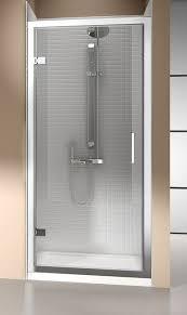 800 Shower Door Eight 8 Hinged Shower Door 900mm