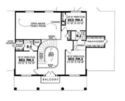 Master Bedroom Above Garage Floor Plans Houseplans Com Upper Floor Plan Plan 40 244 Floor Plans Pinterest