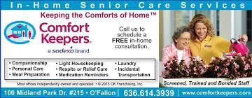 Comfort Keepers Com Comfort Keepers Of O U0027fallon Mo Home Facebook