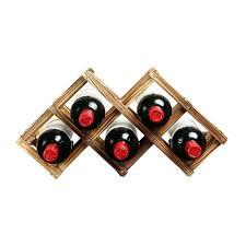 6 bottle wooden wine rack u2013 excavatingsolutions net