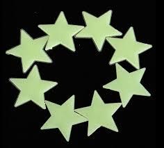 26 glow in the dark star wall decals luminous wall sticker home wall stickers home decor glow in the dark star sticker decal kids room