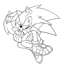 sonic and amy by proboom on deviantart