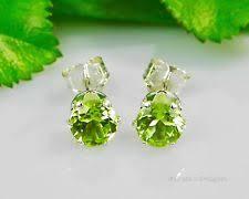 peridot earrings peridot earrings ebay
