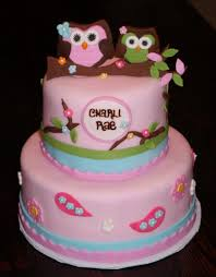 southern blue celebrations cute owl cakes