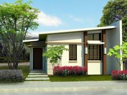 modern cream small modern house designs and floor plans that can