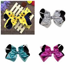 hair bows for sale christmas hair bows mermaid jojo bows with clip laser cut