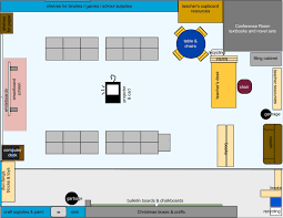 comfloor plan of classroom crowdbuild for