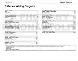 2016 ford e 350 and e 450 wiring diagram manual original