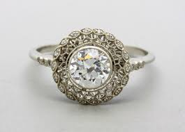 what you need to know about art nouveau engagement rings the