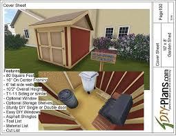 garden shed plan 10x8 garden shed plan