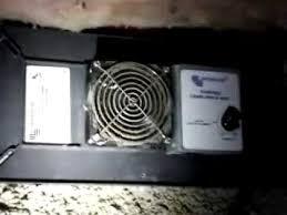 crawl space exhaust fan nashville tn home inspector foundation vent fan youtube