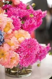 Flowers By Violet - pink dahlia bouquet photo by charlie juliet flowers by violet