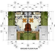 celadon duplex u2013 ground floor plan northfield residences