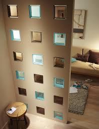 brique de verre cuisine cuisine briques de verre incrustã es dans le mur dã co murale