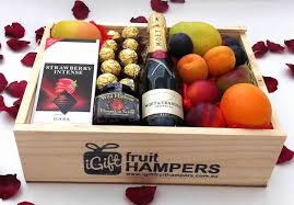 gift baskets free shipping great sydney christmas hers fruit basket fruit hers free