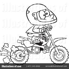 dirt bike clipart 1044035 illustration by toonaday