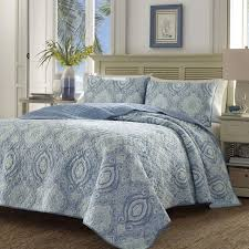 Caribbean Comforter Sets Tommy Bahama Bedding Turtle Cove Caribbean Blue Reversible Quilt