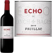wine from château lynch bages echo de lynch bages2 le caveau