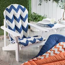 Adirondack Chair Cushions Lowes Coral Coast Valencia Adirondack Chair Cushion Hayneedle