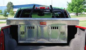 dog hunting truck aluminum dog boxes the hunter series by owens