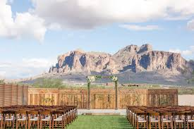 outdoor wedding venues az picturesque outdoor wedding at the paseo scottsdale