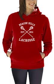 halloween sweaters for women beacon hills lacrosse women hoodie stilinski wolf teen movie team