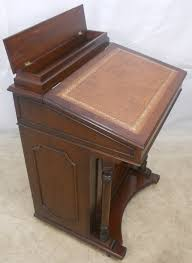 antique style writing desk style mahogany davenport ladies writing desk sold