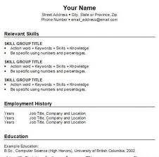 type a resume in word how to write a resume for free using