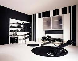 Marvellous Black And White Bedroom Designs For Teenage Girls  On - Black and white bedroom interior design