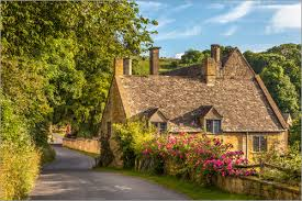 cotswolds cottage christian müringer cottage in the cotswolds poster