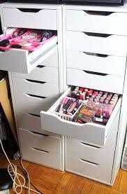 makeup organizer drawers ikea home design ideas
