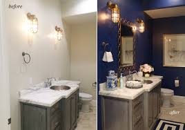 Powder Room Powell Ohio - my style at home the powder room pink peonies by rach parcell