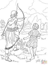 jonathan warns david coloring page free printable coloring pages