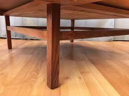 Checkered Laminate Flooring John Keal For Brown Saltman Checkered Top Walnut Coffee Table