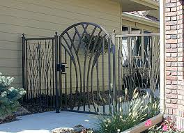 inspirational landscape of ornamental iron gates interior design