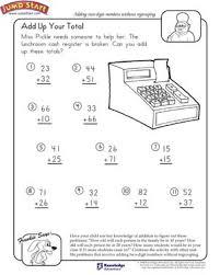add total 1st grade math worksheets jumpstart