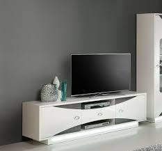 lowboard weiss tv lowboard weiss hochglanz eiche grau woody 77 00988 holz modern