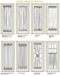 Curtains For Glass Door Curtain Treatments For Doors Design Ideas Window