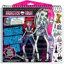 doll design book 64002 monster high fashion design sketch portfolio shop monster