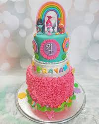trolls themed cake cakes by mehwish