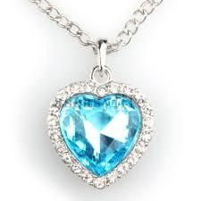 blue heart necklace images Blue diamond heart necklace titanic diamondstud jpg