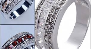 ring ruby engagement rings awesome garnet wedding ring awesome